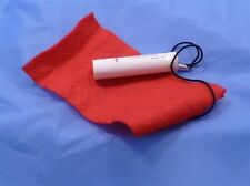 Red Clarinet Cleaning Felt bore Swab cloth & Cork Grease Soprano Bb(flat)