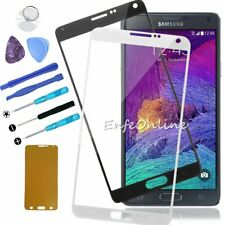 For Samsung Galaxy Note 4 Tools Kit Front Outer Screen Glass Lens Replacement