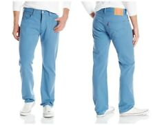 LEVI'S 501 MEN'S ORIGINAL FIT STRAIGHT LEG BUTTON FLY JEANS COPEN BLUE 501-2224