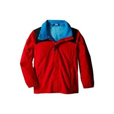 North Face Boys Clothing Resolve Reflective Jacket Fiery Red
