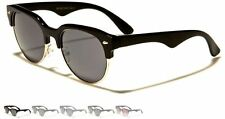 New Women Ladies Men Gents Round Wayfarer Sunglasses Retro Funky Festival 13033