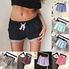Summer Casual Pants Women Sports Shorts Gym Workout Waistband Skinny Yoga Short