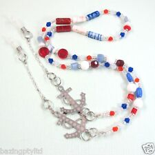 Nautical Spectacles Reading Glasses Eyeglass Necklace Chain Holder Cord Lanyard