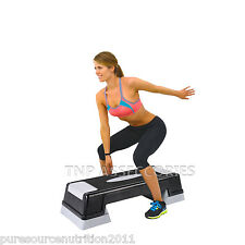 New Aerobic Stepper Adjustable Fitness Exercise Board Step Yoga 70cm Board