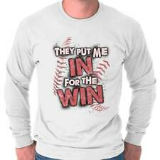 Put Me In For Win Funny T Shirt Funny T Novelty Shirt Graphic Long Sleeve Tee