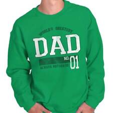 World Greatest Dad Fathers Day Funny Shirt Humorous Gift Ideas Sweatshirt