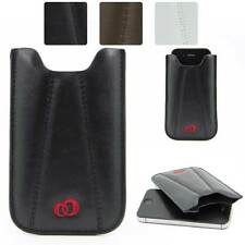 Synthetic Leather Slimline Protective Pouch Case for Smart-Phones EIP4BQ-1