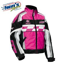CASTLE X Women's Magenta CR2-12 Winter Snowmobile Jacket (S) 72-8982