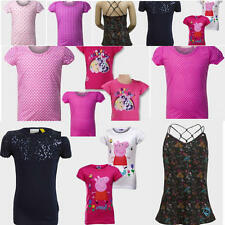 Fabulous Selection of Girls T-Shirts. 3 to 6 Years Old. Peppa Pig, Little Pony