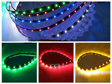 6 color 30cm 12V 15 SMD 3528 LED Flexible Strip Light Car Lamp Waterproof