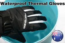 PERYSHER Waterproof Thermal Mens & Womens Ski Gloves Unisex Insulated Gloves