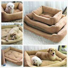 Pet Bed Cushion Mat Pad Dog Cat Cage Kennel Crate Warm Cozy Soft Pad Hotsell.