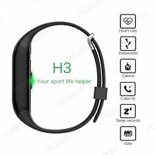 IP67 Waterproof Bluetooth Smart Bracelet Watch Wrist Band Fitness For Phone Mate