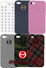 Cover IPHONE 4 and 4s HIP HOP smartphone rubber fantasies coloured