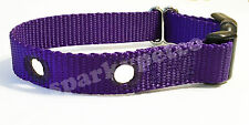 "Dog Fence Heavy Duty Replacement Nylon Collar Straps 3/4"" 1.25"" Holes Apart"