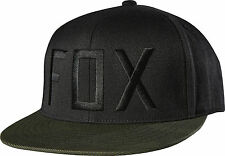 Fox Racing Mens Black Column 210 Fitted Hat Cap 2015 Fall Casual