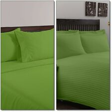 800 1000 1200 TC MOSS 100% EGYPTIAN COTTON ALL BEDDING ITEM UK COLLECTION