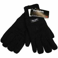 RJM Mens HeatGaurd Thermal Thinsulate Lined Knitted Warm Winter Gloves GL130