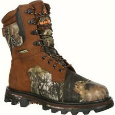 "Mens Rocky 9"" Bearclaw 3D Gore Tex Insulated Camo Hunting Boot Size 8-14 9275"