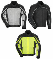 Tourmaster Mens Intake Air 4.0 Textile Mesh Motorcycle Jacket All Sizes & Colors