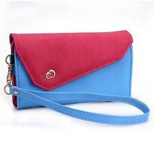 Womens Link Wallet Case & Crossbody Clutch Cover for Smart Cell Phones CRWL5