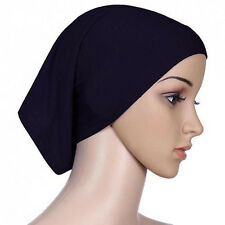 Colorful Women Under Scarf Tube Bonnet Cap Bone Islamic Head Cover Hijab 1 Pcs