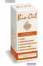 BIO OIL SKINCARE FOR SCARS STRETCH MARKS TREATMENT WITH PURCELLIN OIL 60 ML