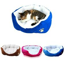 Dog Puppy Cat Pet Soft Cotton Fleece Cozy Warm Nest Bed Mat House Sofa Cushion