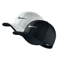 NWT NIKE Men's Dri-Fit Feather Light Running Tennis Golf Hat Cap BLACK or WHITE