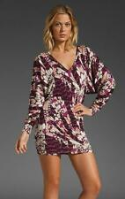 NWT RACHEL PALLY DOLMAN SLEEVE CALLIE FLORAL PLUME PRINT SEXY MINI DRESS