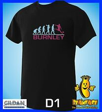 BURNLEY  evolution  sports football funny MENS T SHIRT small to 5XL D1