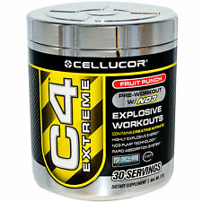 CELLUCOR C4 Extreme 30 - 60 Servings Best Pre Workout fast delivery
