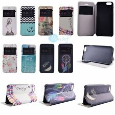 SILM Fashion Leather Flip KICKSTAND Hard Back Cover Case Skin For Apple iPhone