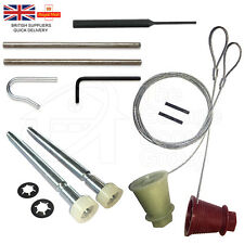 CARDALE WICKES CD45 Garage Door Spares Cones Cables Roller Spindles Repair Kit