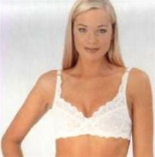 Lace Underwired Bra By Marlon 34-44 B,C,D,DD Cups Black or White