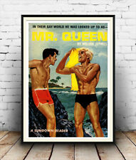 Mr Queen : Reproduction pulp book cover, poster, Wall art.