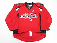 WASHINGTON CAPITALS AUTHENTIC HOME REEBOK EDGE 2.0 7287 HOCKEY JERSEY
