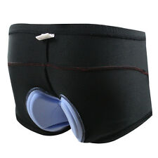 Mens 3D Coolmax Gel Padded Riding Bicycle Cycling Underpants Shorts Underwear