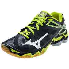 Mizuno Women's Wave Lightning RX3 Volleyball Shoes - Black & Lime - 430168