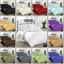 OFFER 1000 TC 100% Egyptian Cotton UK Hotel King Size Bedding's in Striped