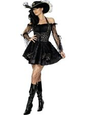 SALE! Adult Sexy Pirate Swashbuckler Ladies Fancy Dress Hen Party Costume Outfit