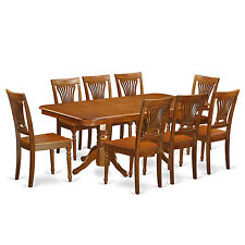 9 Piece Dining Table Set-Dining room table and 8 dining room chairs