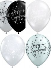 "20 Qualatex 11"" Engagement Latex Helium Quality Balloons Assorted Design"