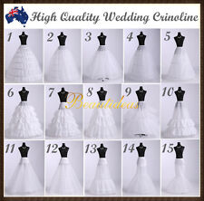 White wedding dress fashion bridal crinoline petticoat  hoop flounce underskirt
