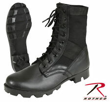 "ROTHCO 8"" Tall Steel Toe Panama Sole G.I. Style Jungle Boots, Style 5781, Black"