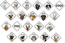 Dog Breed On Board Plastic Sign