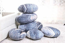 A set(6pcs)  pebble hillstone pillow/pillowcases rock cushion/cushion covers
