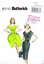 Retro Butterick '60 5747 50s 60s Sailor Dress NEW Vintage Sewing Pattern B5747