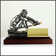 TROPHY ROWING CUP MEDAL AWARDS HANDICRAFT in Metal (Pewter) + CUSTOMIZATION