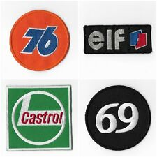 76 Elf Castrol 69 Oil Automobile Car Motor Embroidered Iron on Patch Sewing 038